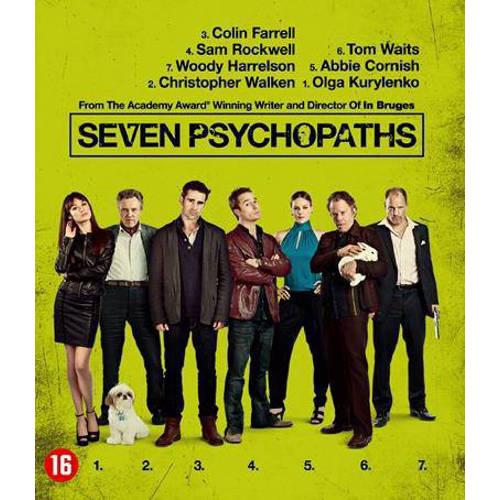 Seven psychopaths (Blu-ray) kopen