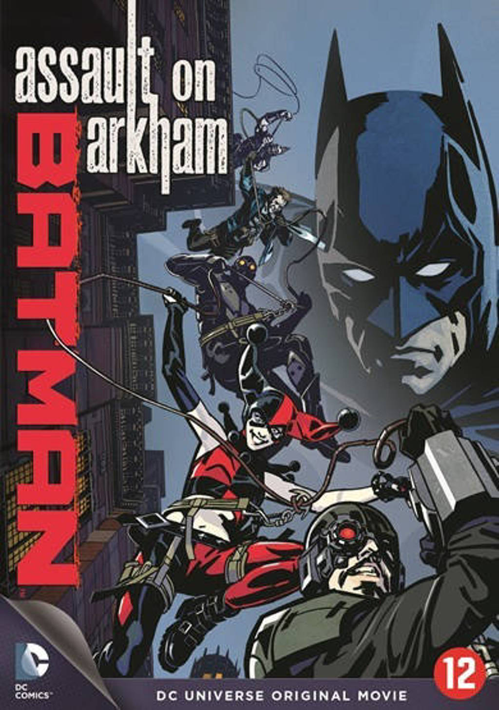 Batman - Assault on arkham (DVD)