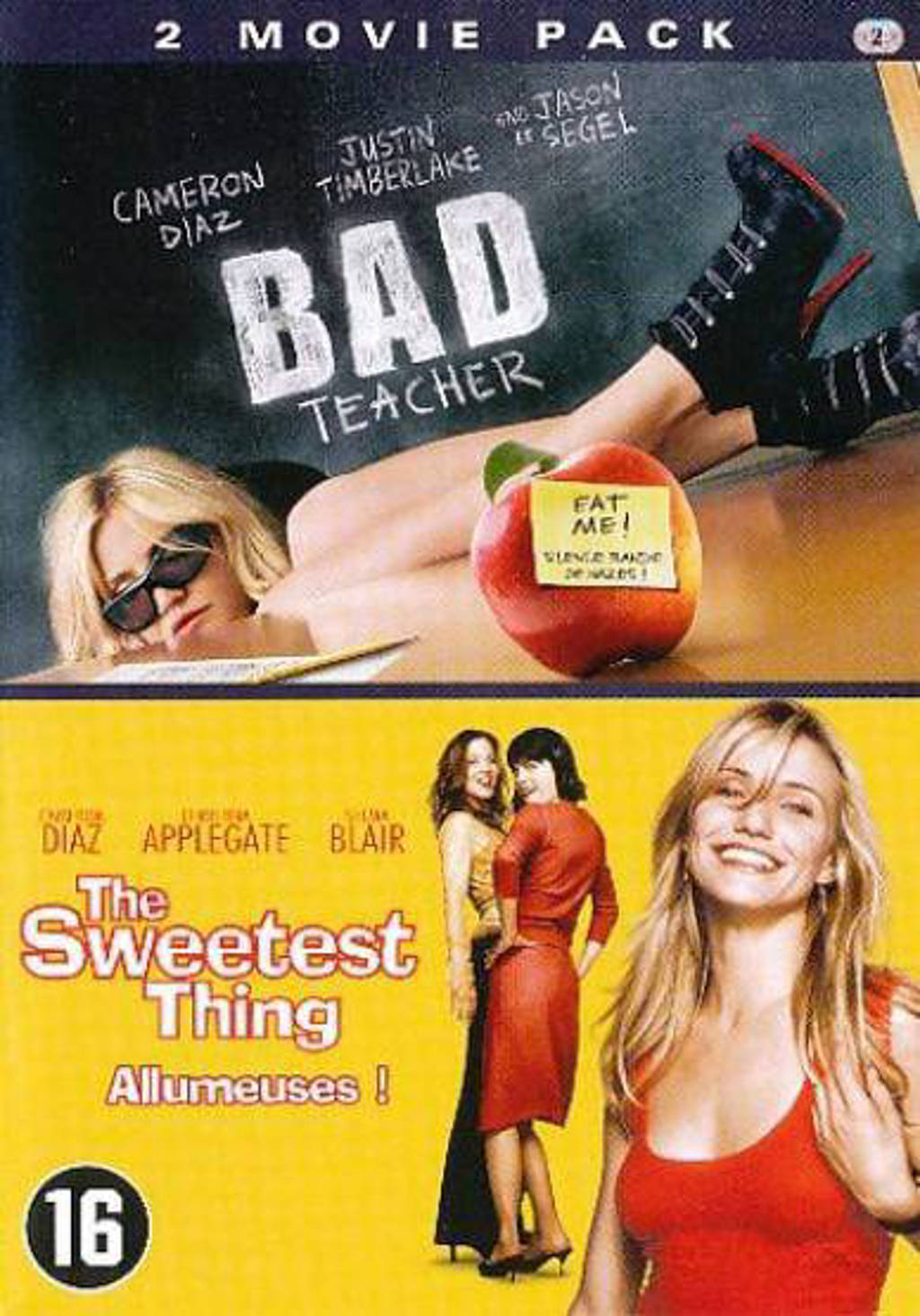 Bad teacher/Sweetest thing (DVD)