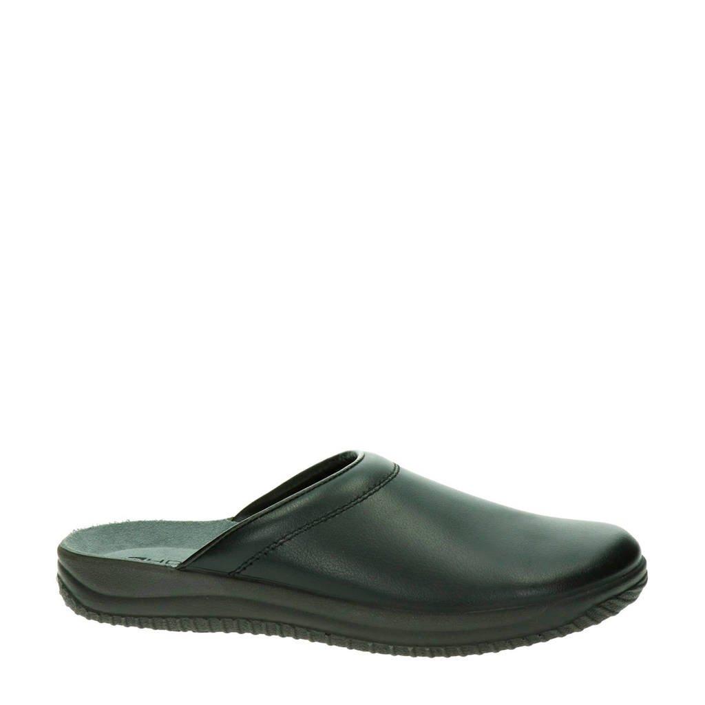 Rohde pantoffels, Zwart