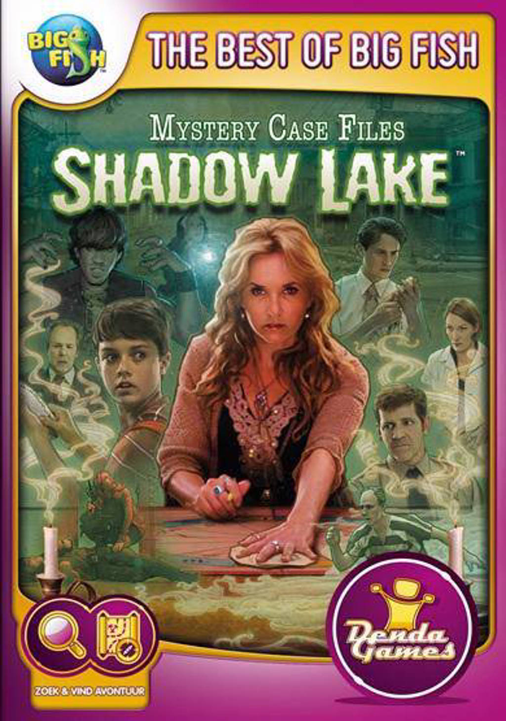 Mystery case files - Shadow lake (PC)