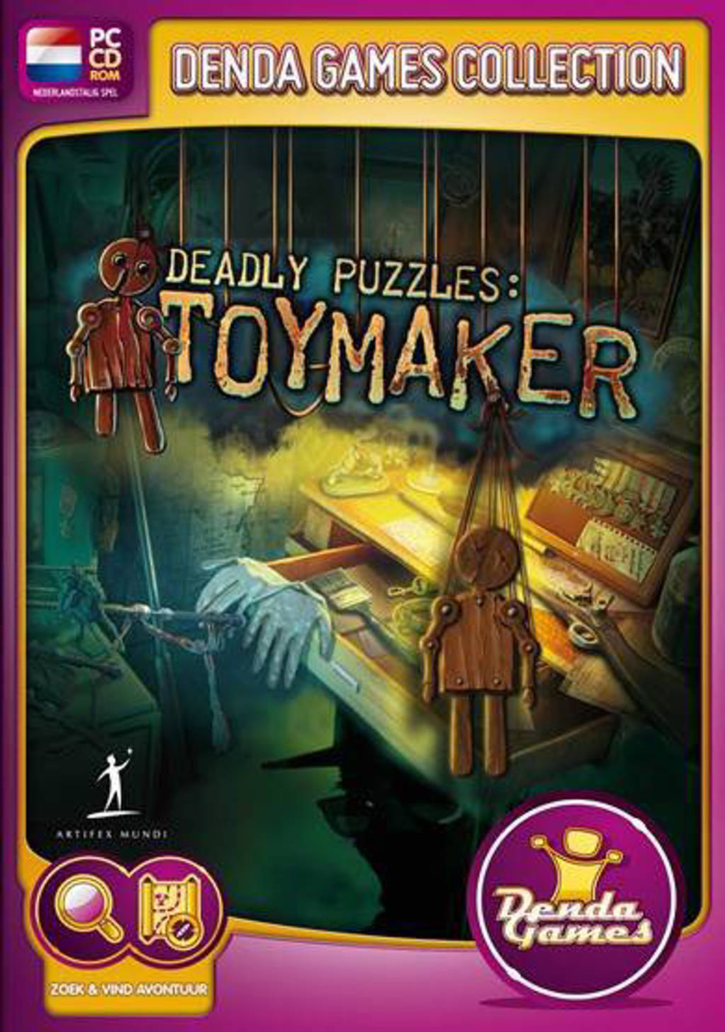 Deadly puzzles - Toymaker (PC)