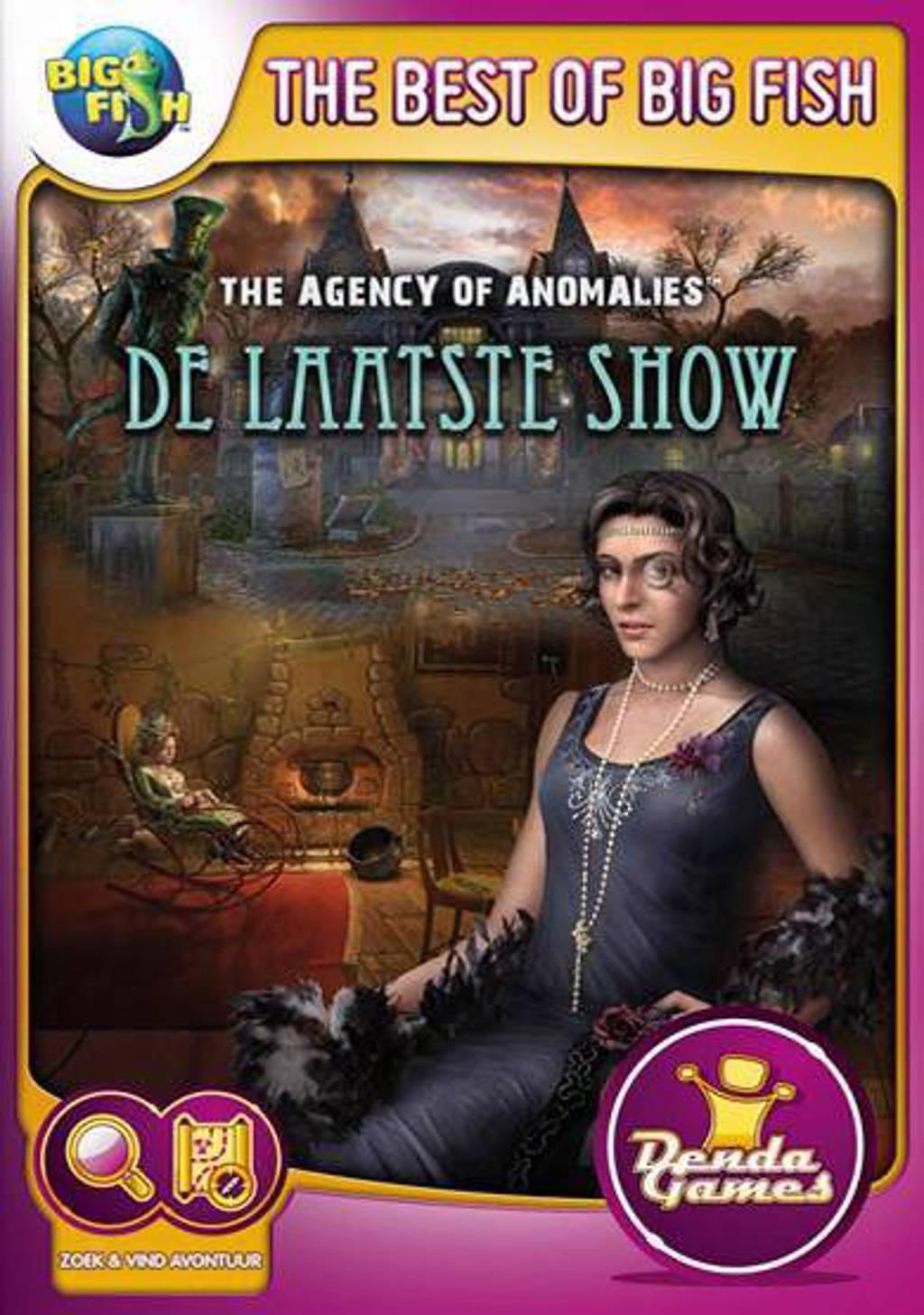Agency of anomalies - De laatste show (PC)