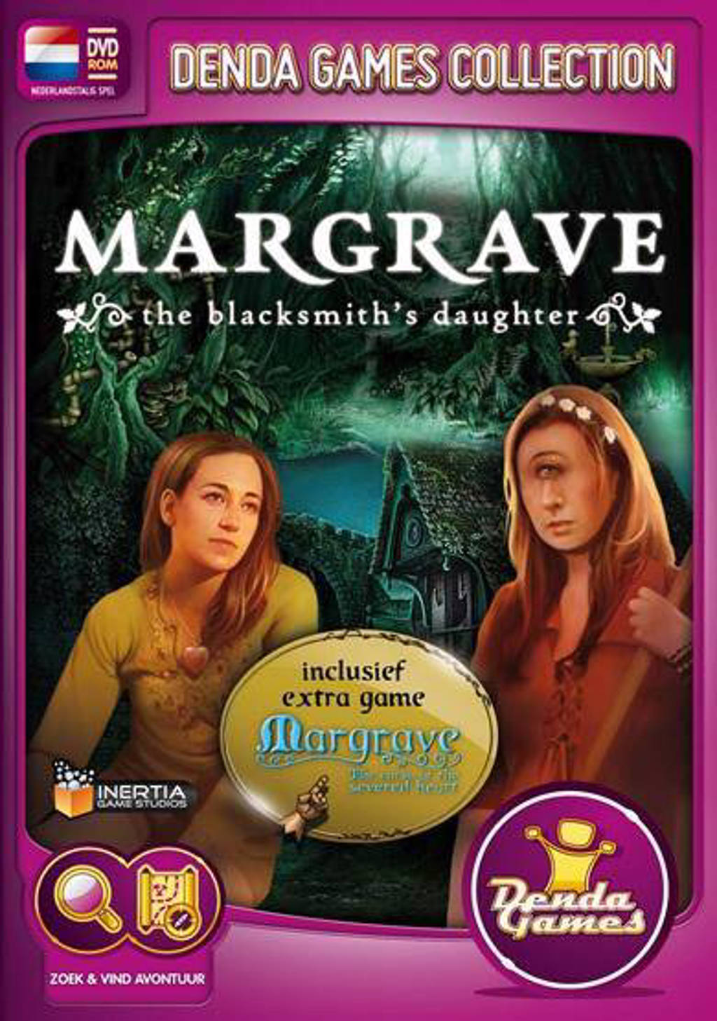 Margrave - The blacksmith's daughter/The curse of the severed heart (PC)