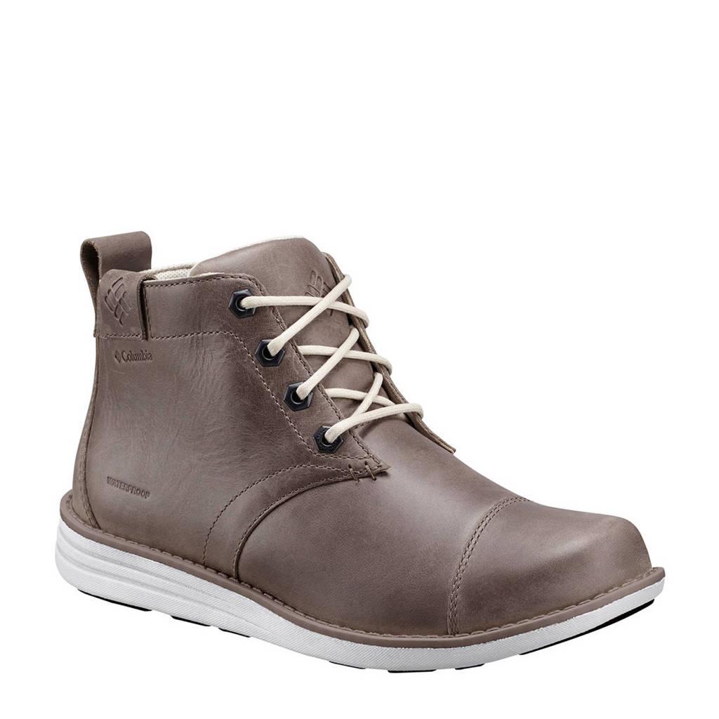 Columbia   Irvington Chukka leren outdoor schoenen, Grijs