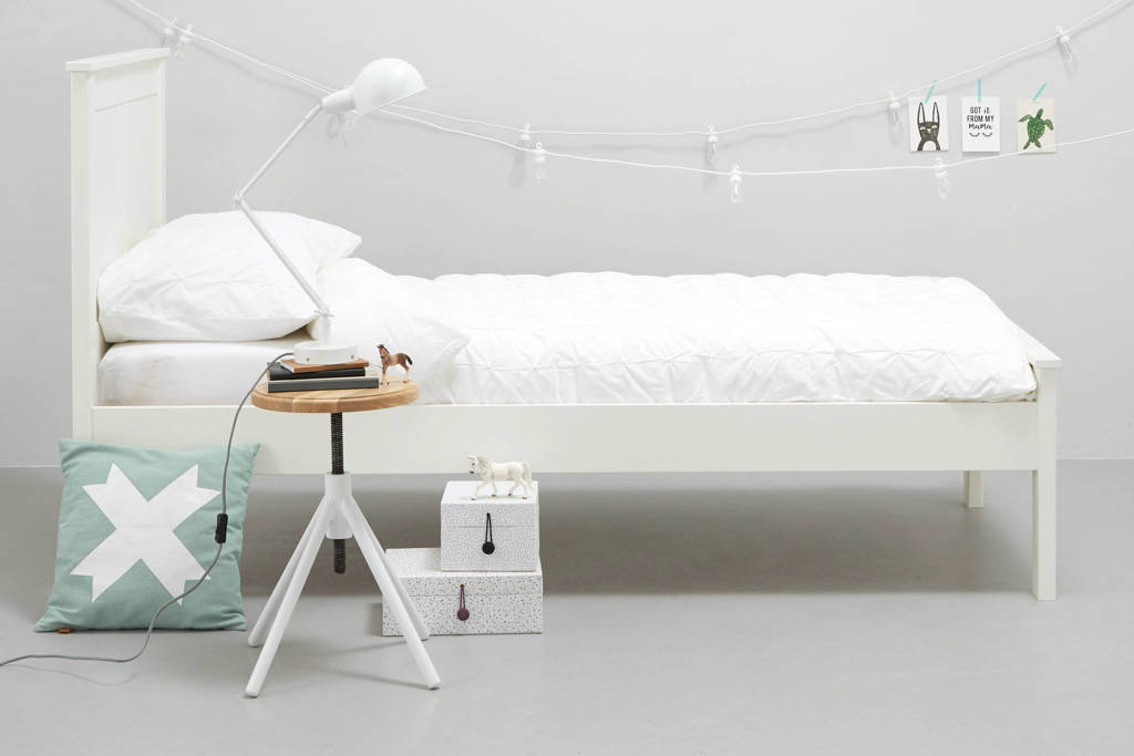 whkmp's own eenpersoonsbed Denver (90x200 cm), Wit