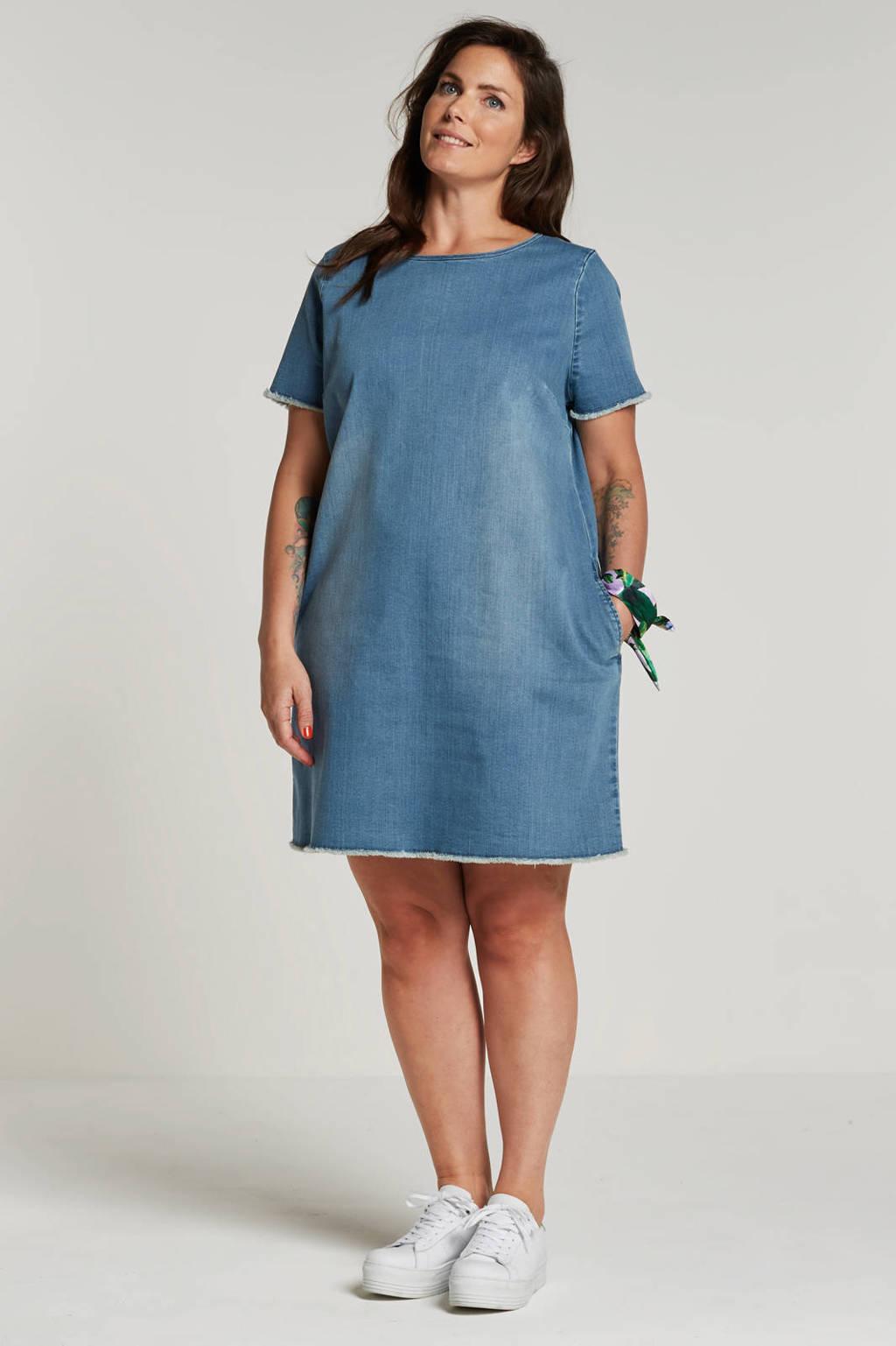 whkmp's great looks denim jurk, Lichtblauw