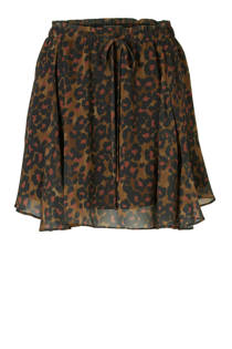 Scotch & Soda Rok met panterprint