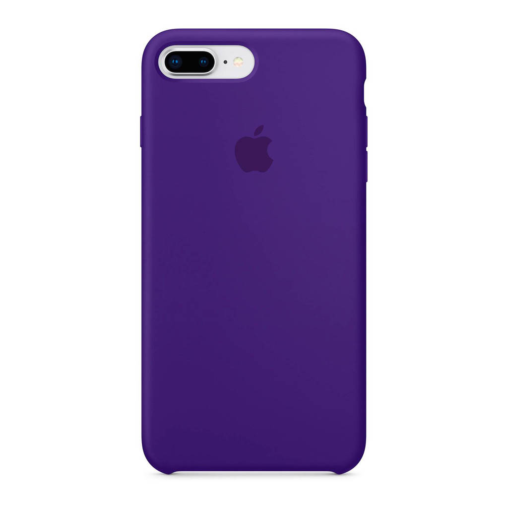 Apple iPhone 8 Plus/7 Plus backcover, Paarsblauw