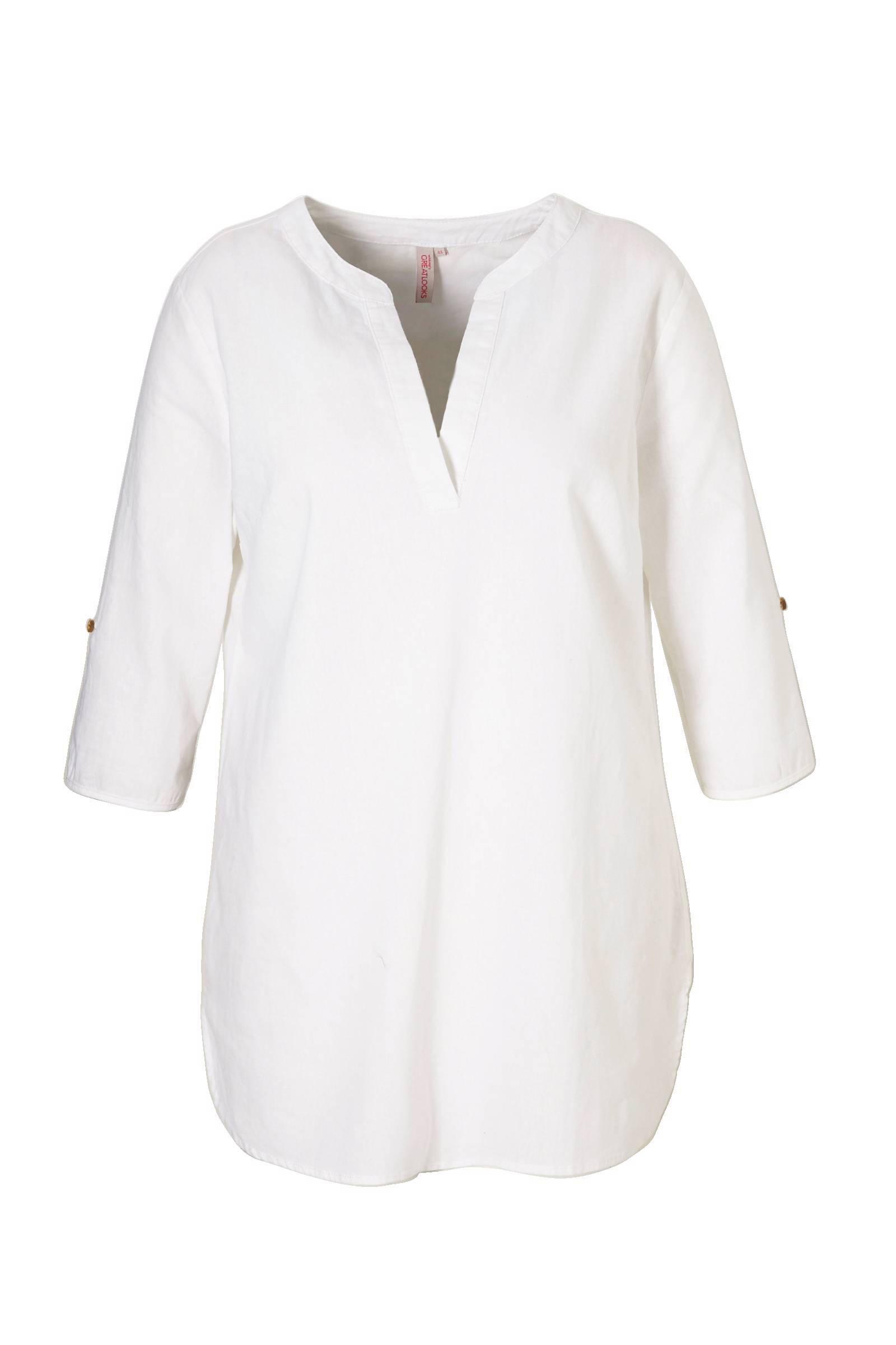product afbeelding whkmp's great looks tuniek met linnen (dames)