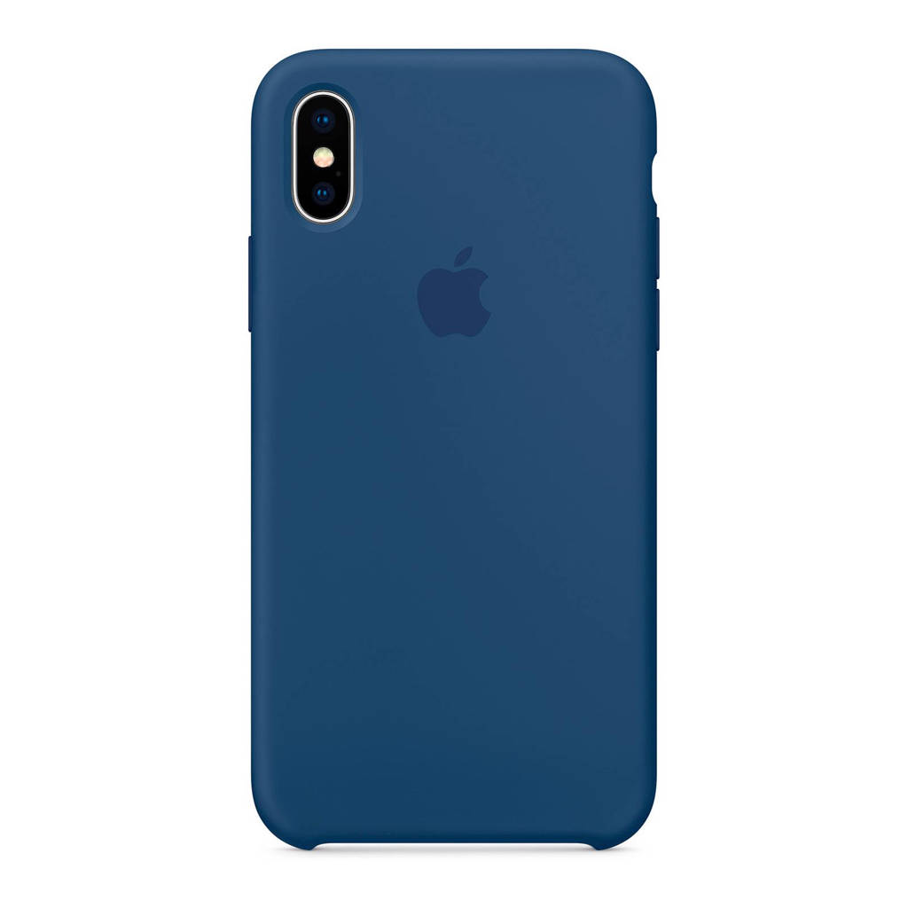 Apple iPhone X backcover, Donker kobalt