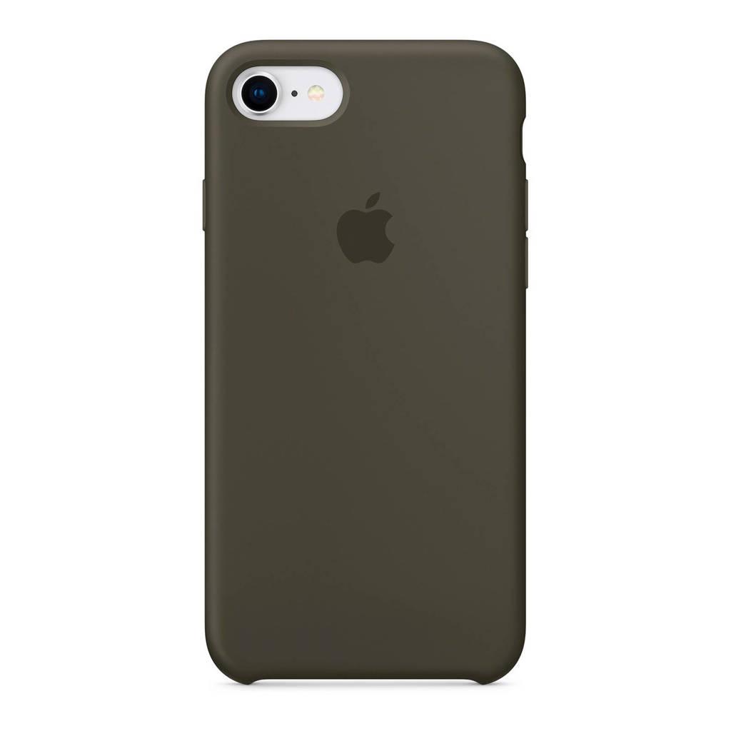 Apple iPhone 8/7 backcover, Donker olijfgroen
