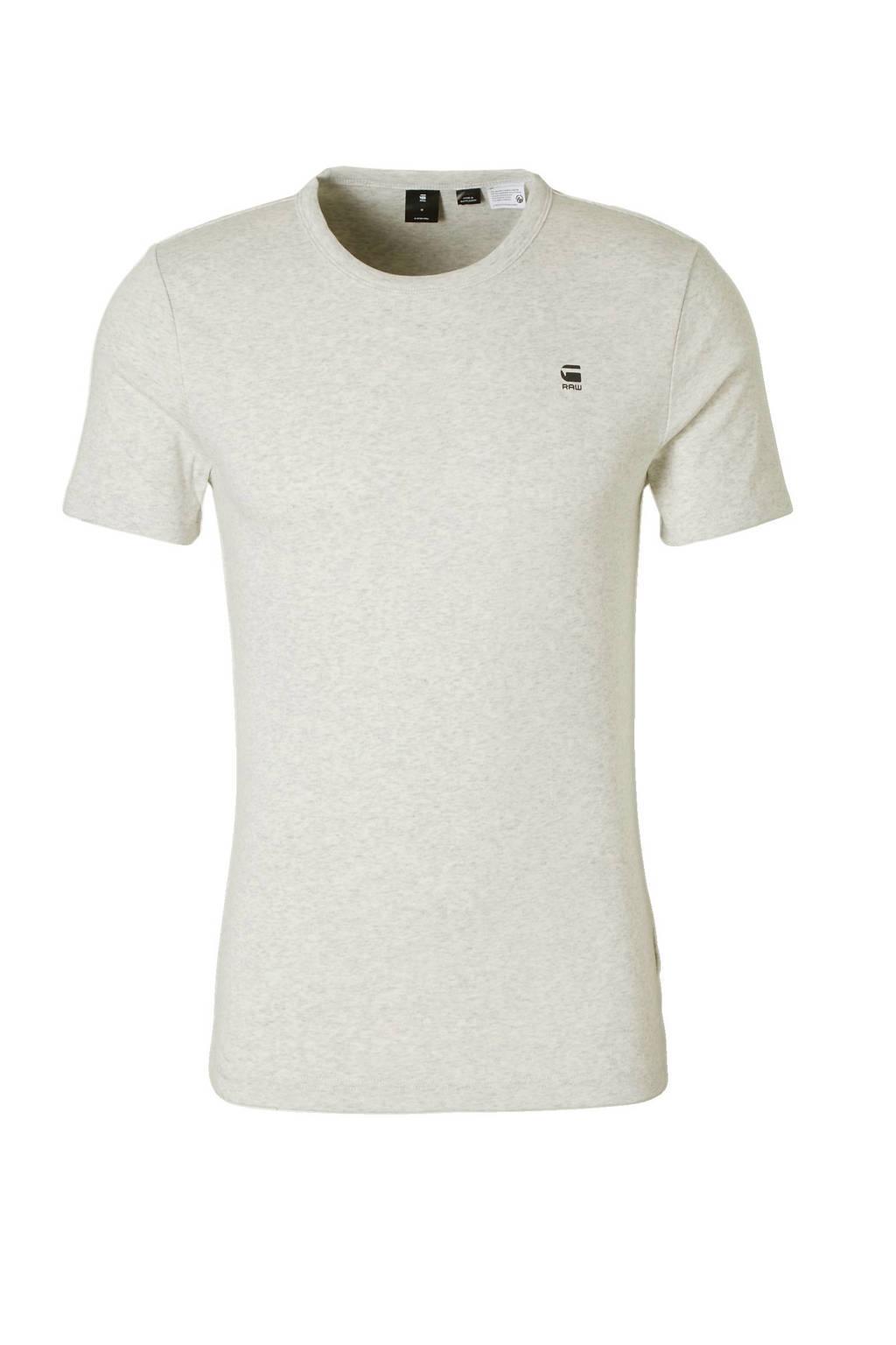G-Star RAW Daplin T-shirt, Wit/zwart