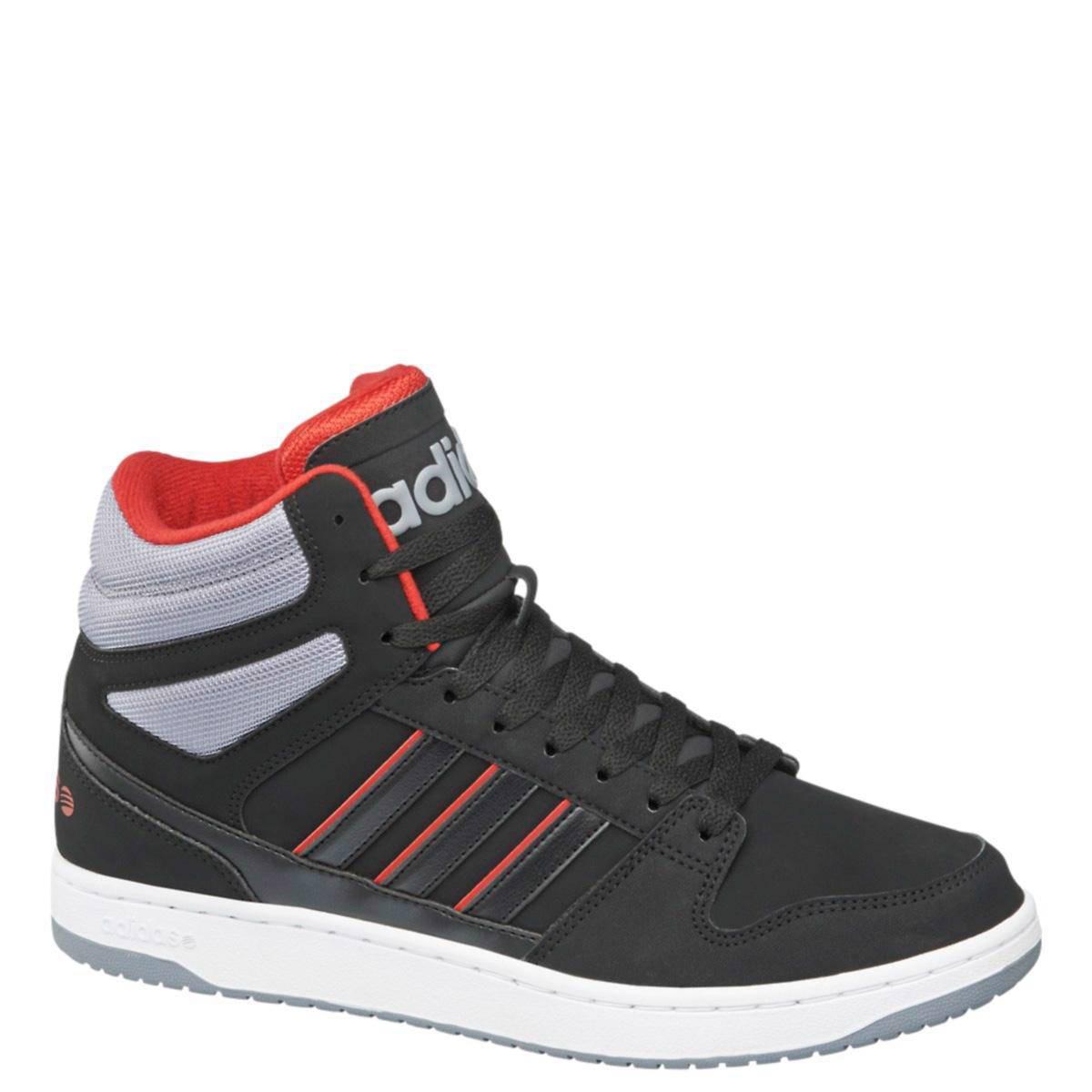 adidas neo sneakers zwart