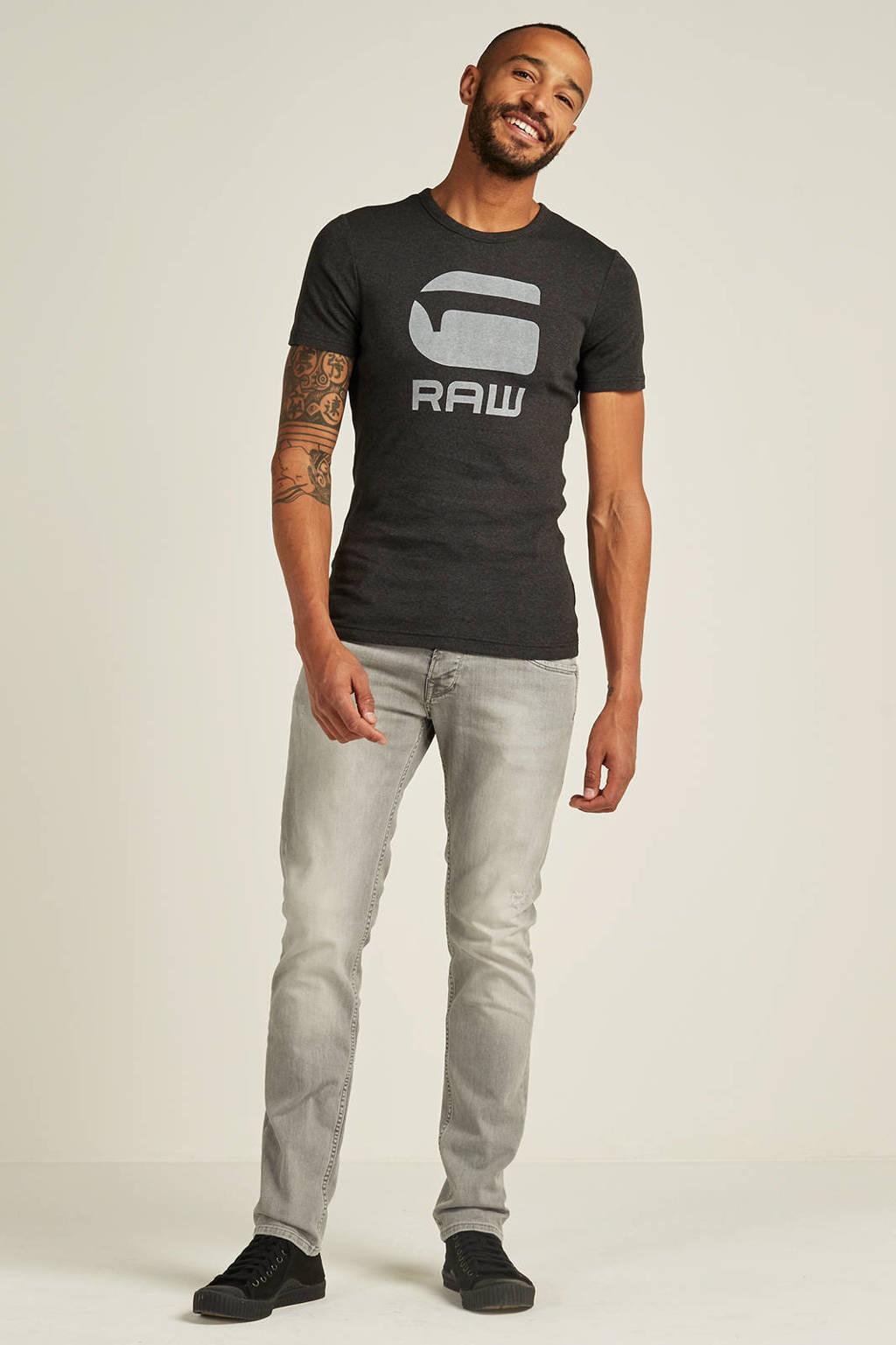 G-Star RAW Drillon T-shirt, Antraciet/grijs