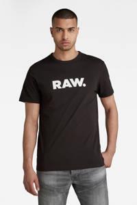 G-Star RAW Holorn T-shirt, Zwart/wit