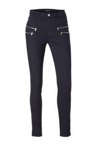 FREEQUENT 7/8 skinny fit broek met ritsen, Navy