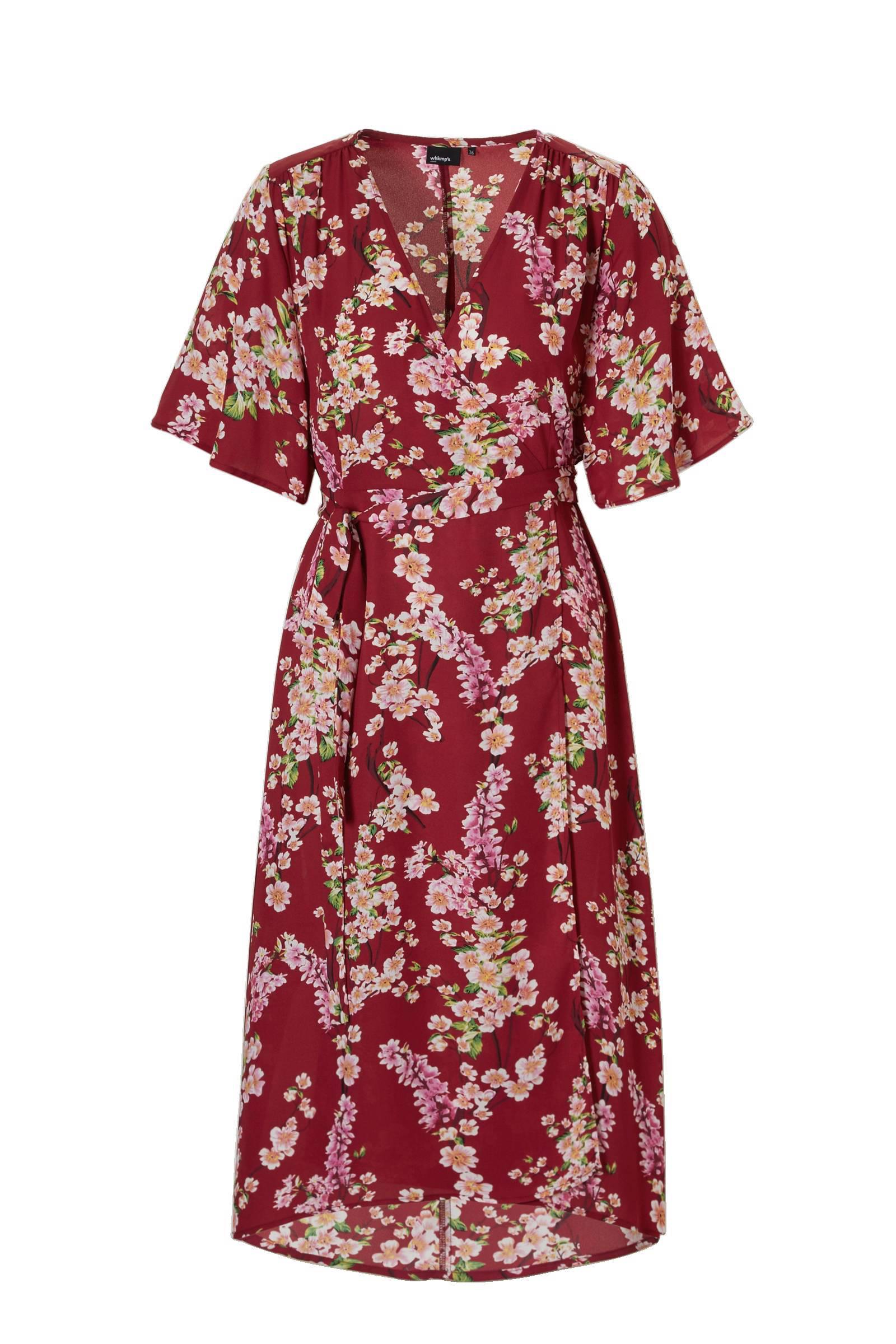 whkmp's own gerecycled polyester kimono jurk