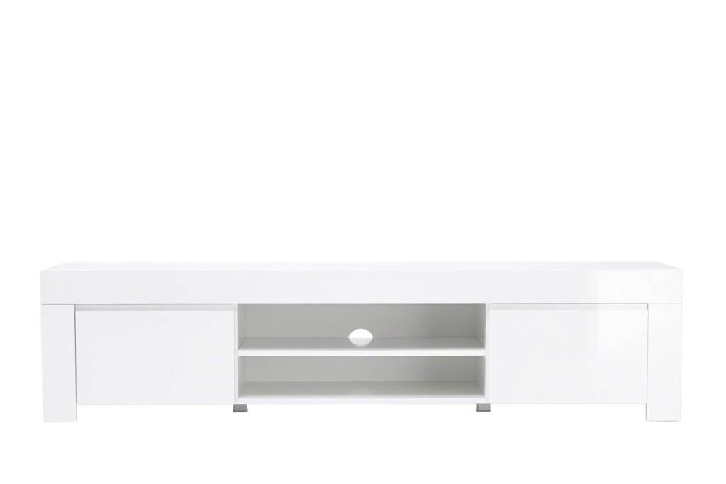 Tv-meubel Amalfi, Hoogglans wit
