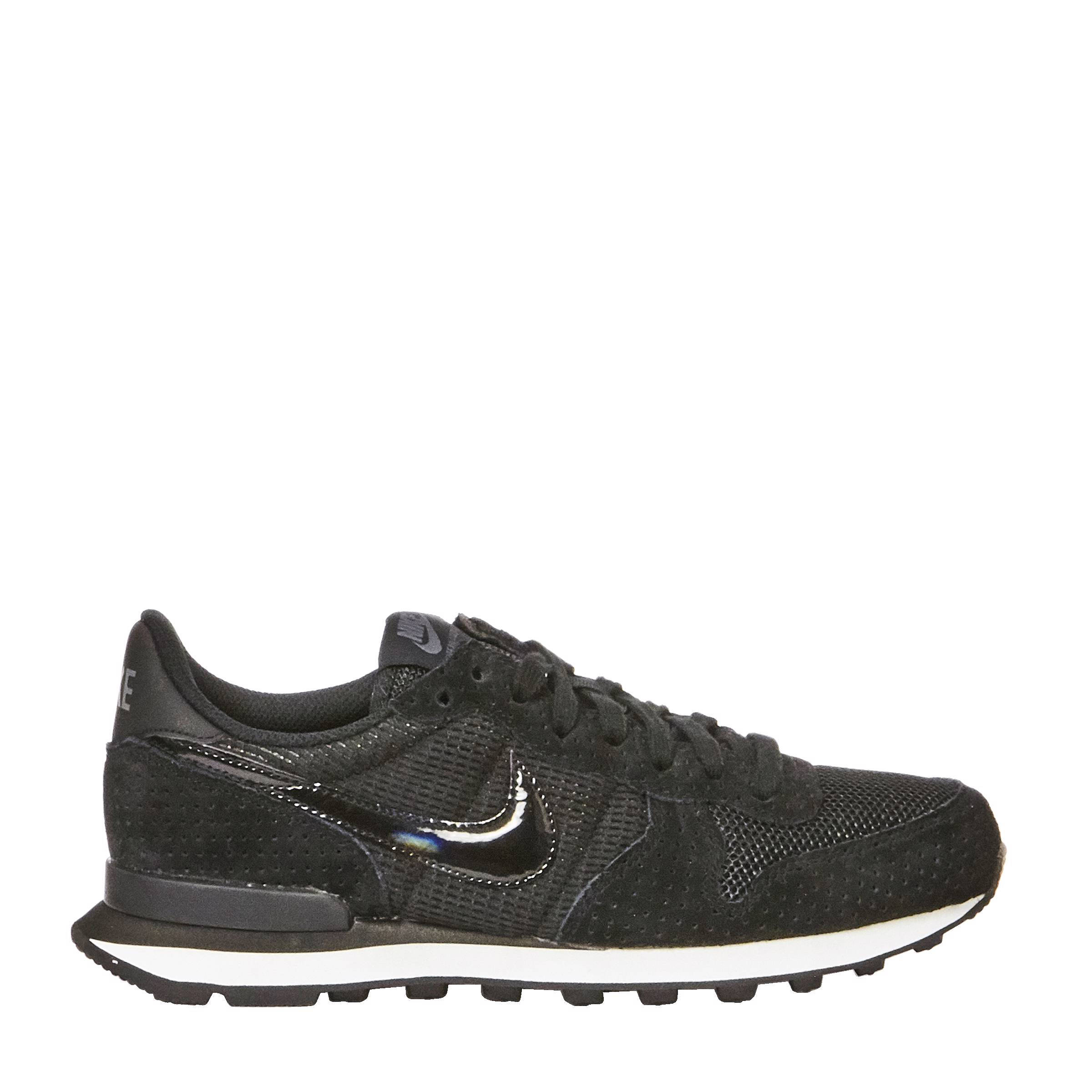 nike internationalist zwart antraciet
