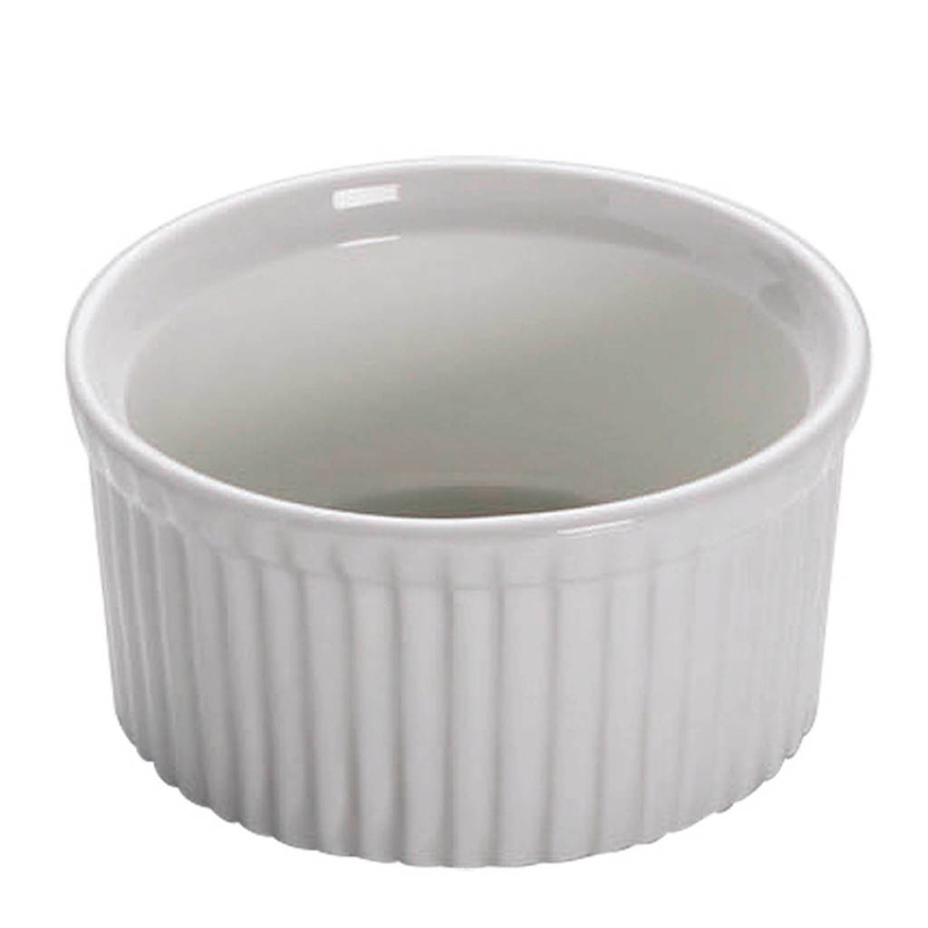 Maxwell & Williams White Basics ramekin (Ø8,5 cm) (set van 4), Wit