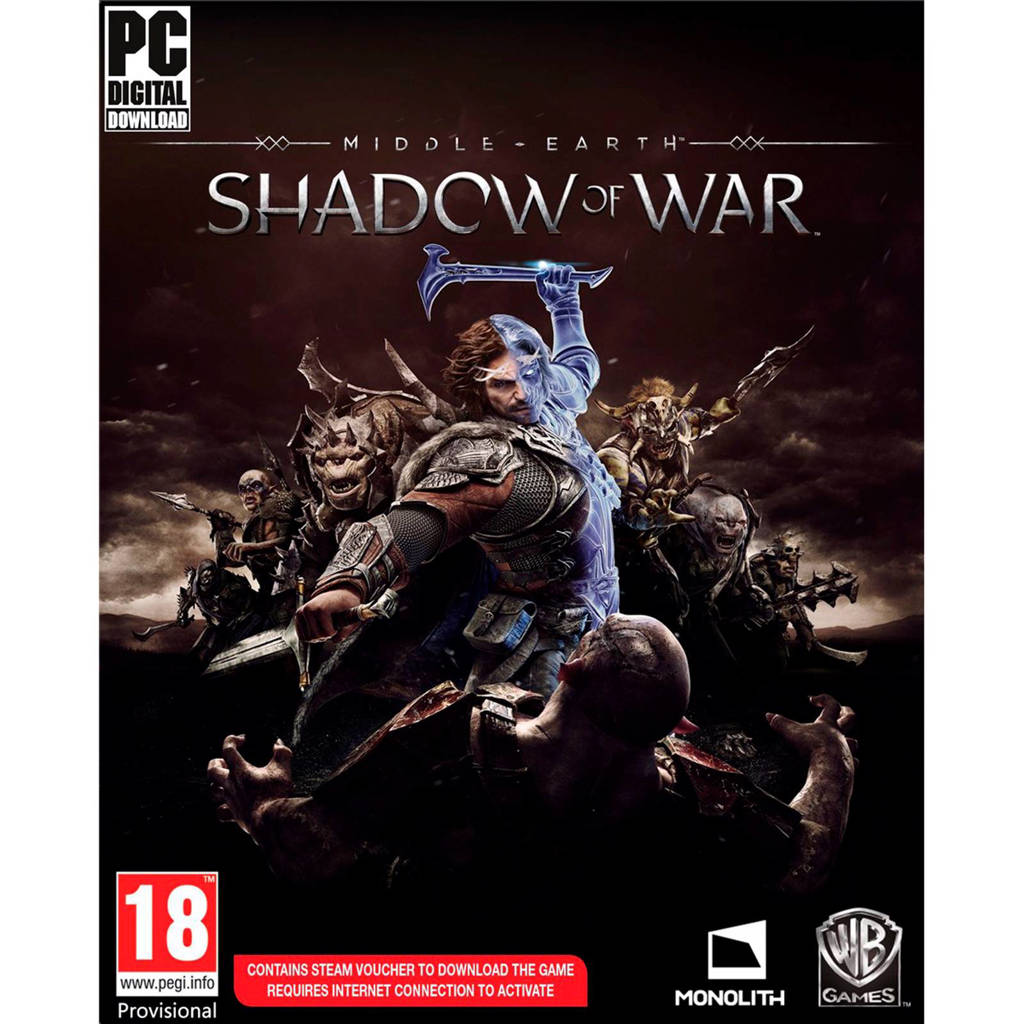 Middle Earth Shadow of War (PC)