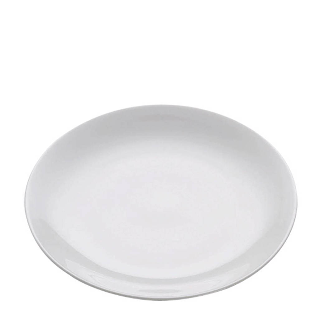 Maxwell & Williams White Basics ontbijtbord (Ø20,5 cm) (set van 2), Wit