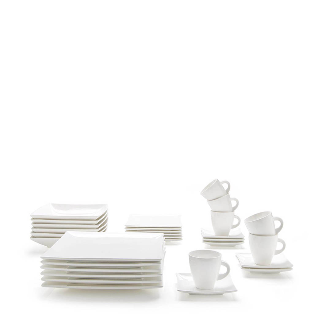 Maxwell & Williams East Meets West serviesset (30-delig), Durable Porcelain
