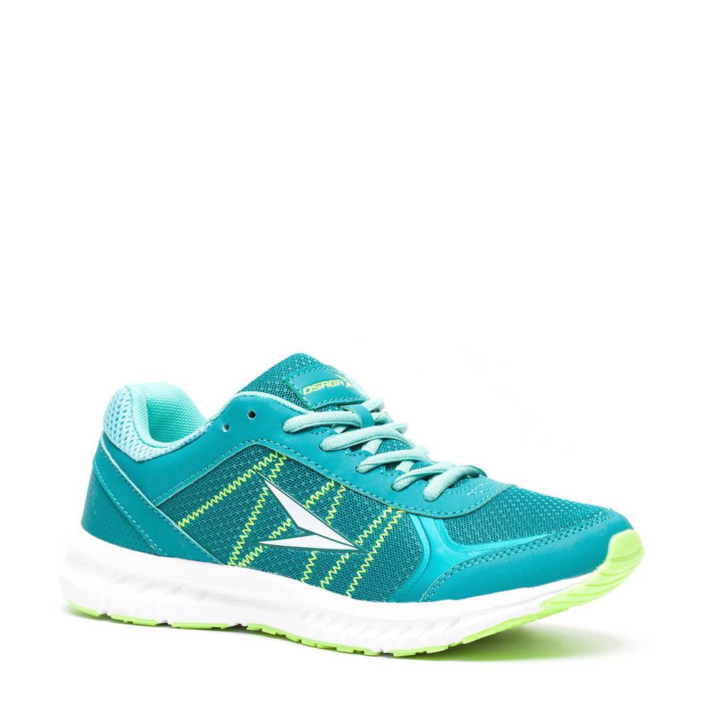 Scapino Osaga Glory lichtgewicht hardloopschoenen, Turquoise