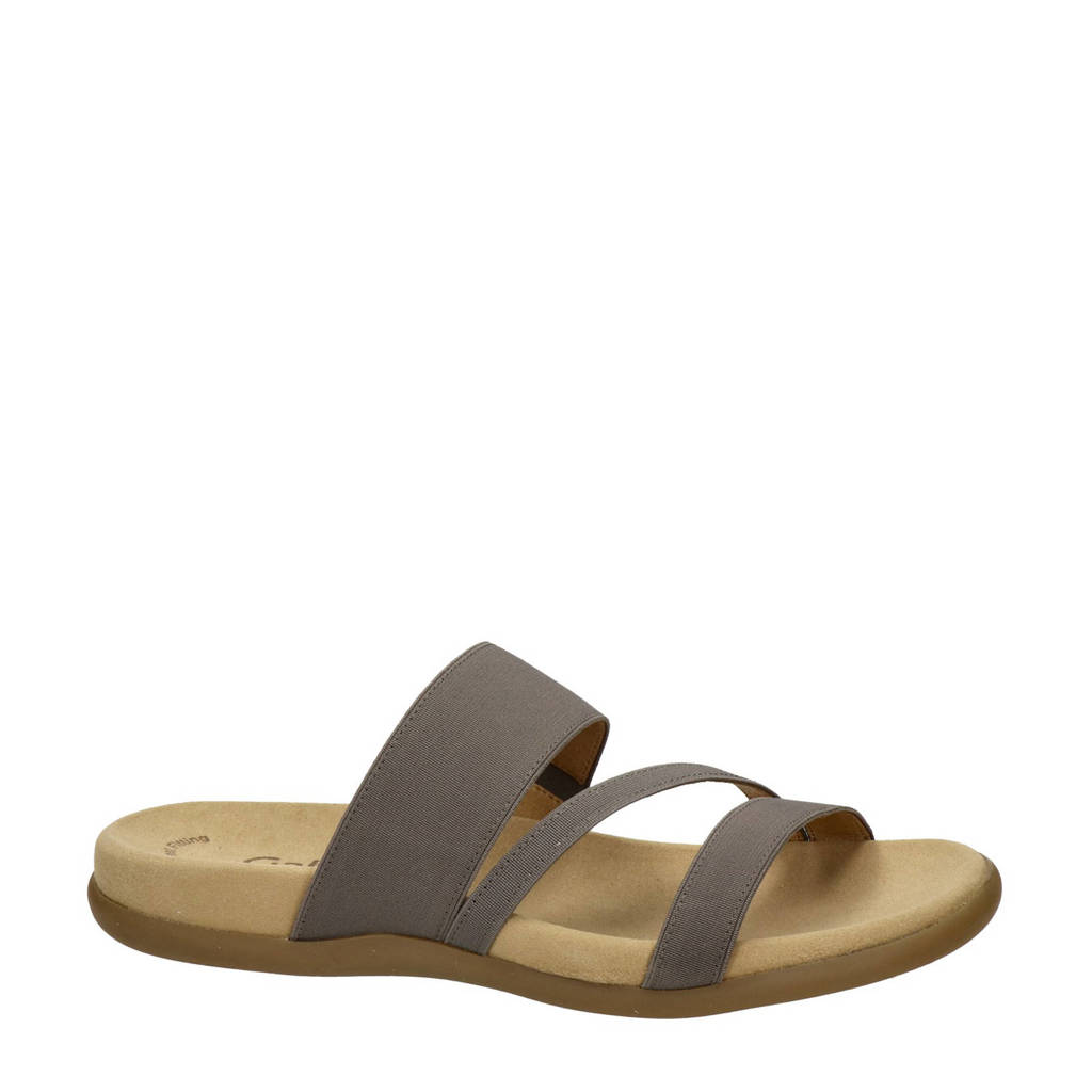 Gabor slippers taupe, Taupe