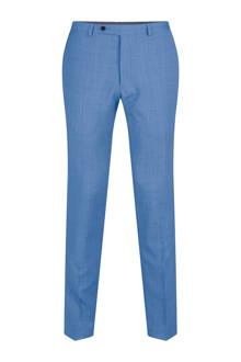 x Van Gils slim fit pantalon met wol