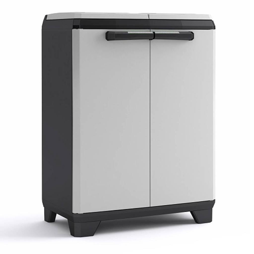 Kis Split Recycling Premium lage opbergkast