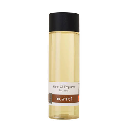 Janzen geurstokjes navulling Brown 51 - 200 ml kopen