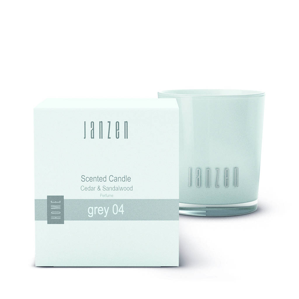 Janzen geurkaars Grey 04 - 135 gr
