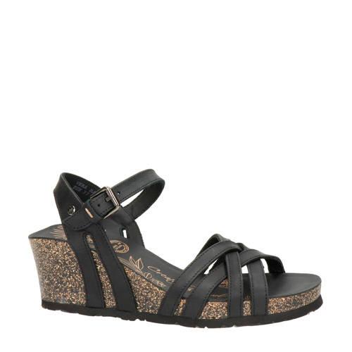Vera nubuck sandalettes