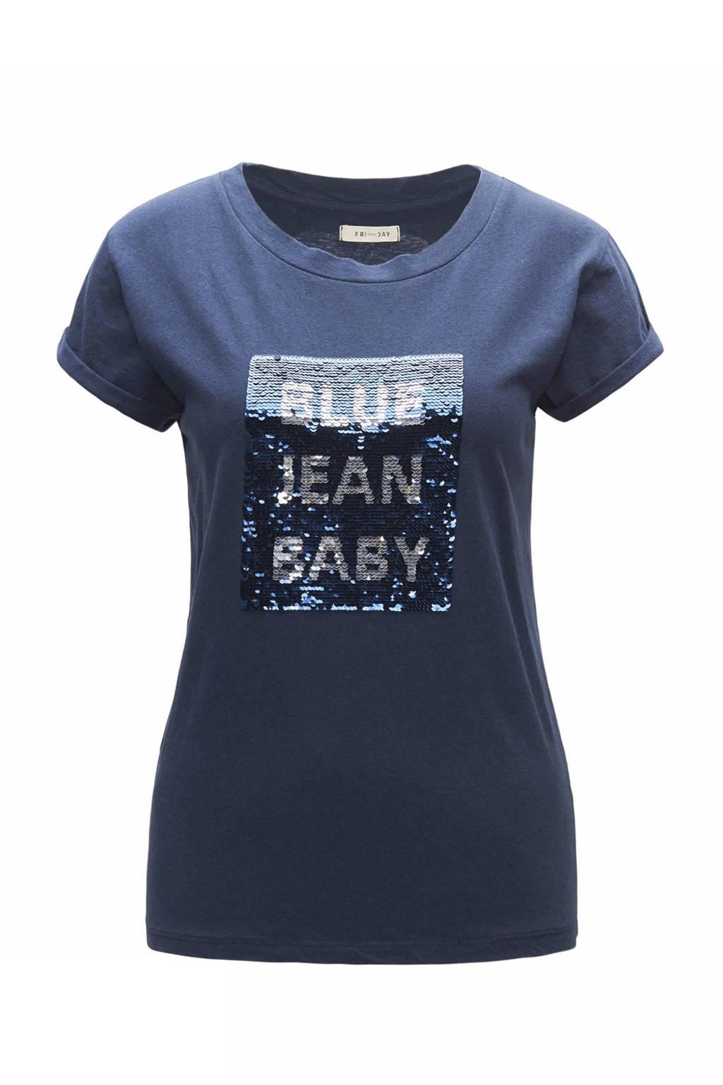 CKS Daisys T-shirt, Blauw