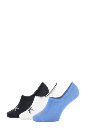 no-show sneaker sokken - 3 paar