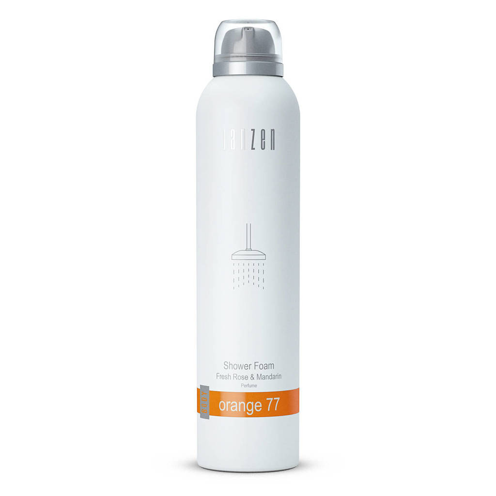 Janzen doucheschuim Orange 77 - 200 ml