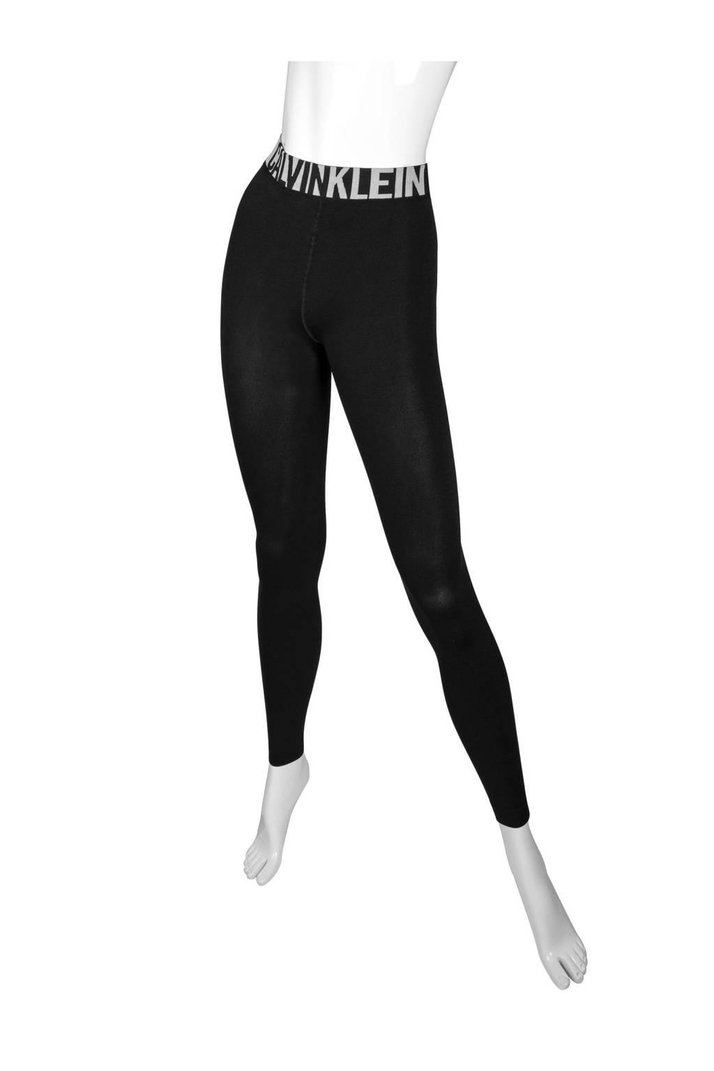 CALVIN KLEIN panty legging, Zwart/wit