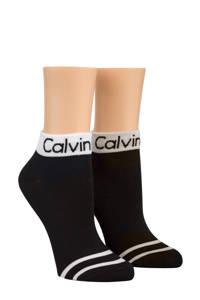 CALVIN KLEIN sokken - 2 paar, Zwart/wit