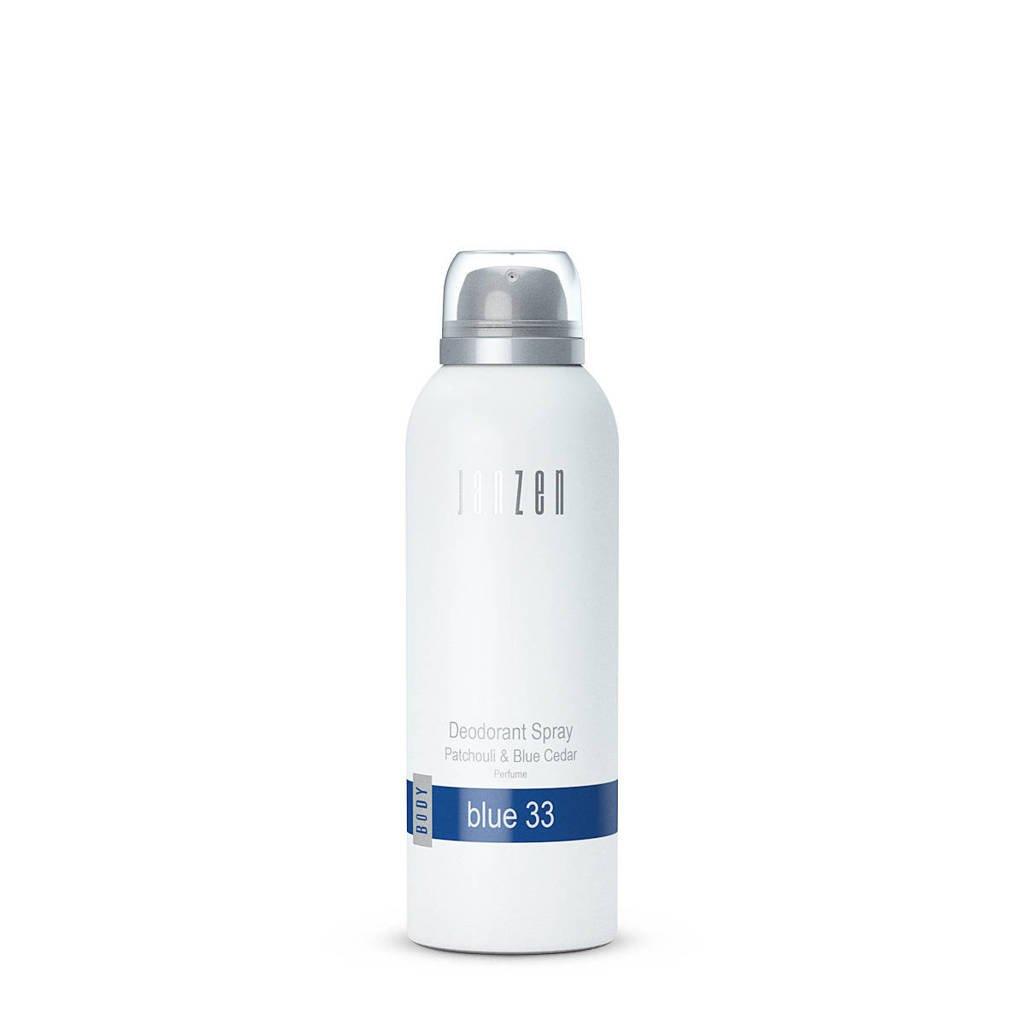 Janzen deodorant spray Blue 33 - 150 ml