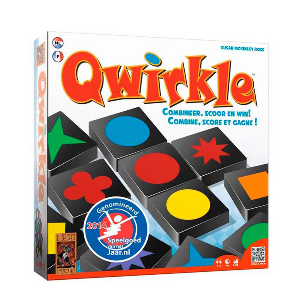 999 Games Qwirkle denkspel