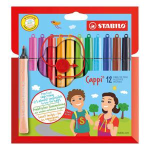 Cappi - Nooit Meer Je Dop Kwijt Dankzij De Dopring - Etui Met 12 Kleuren