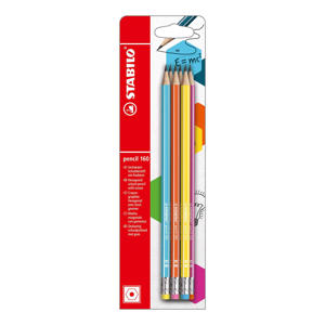 pencil 160 potloden (6 st.)