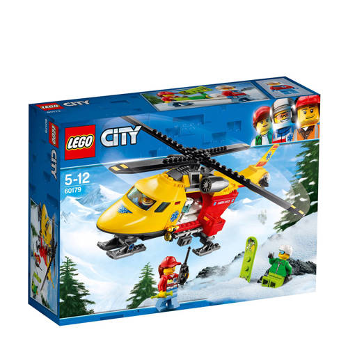 Lego 60179 City Ambulanceheli