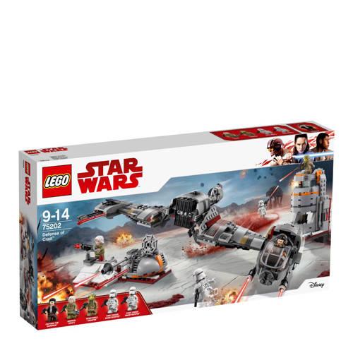 LEGO Star Wars verdediging van Crait 75202 kopen