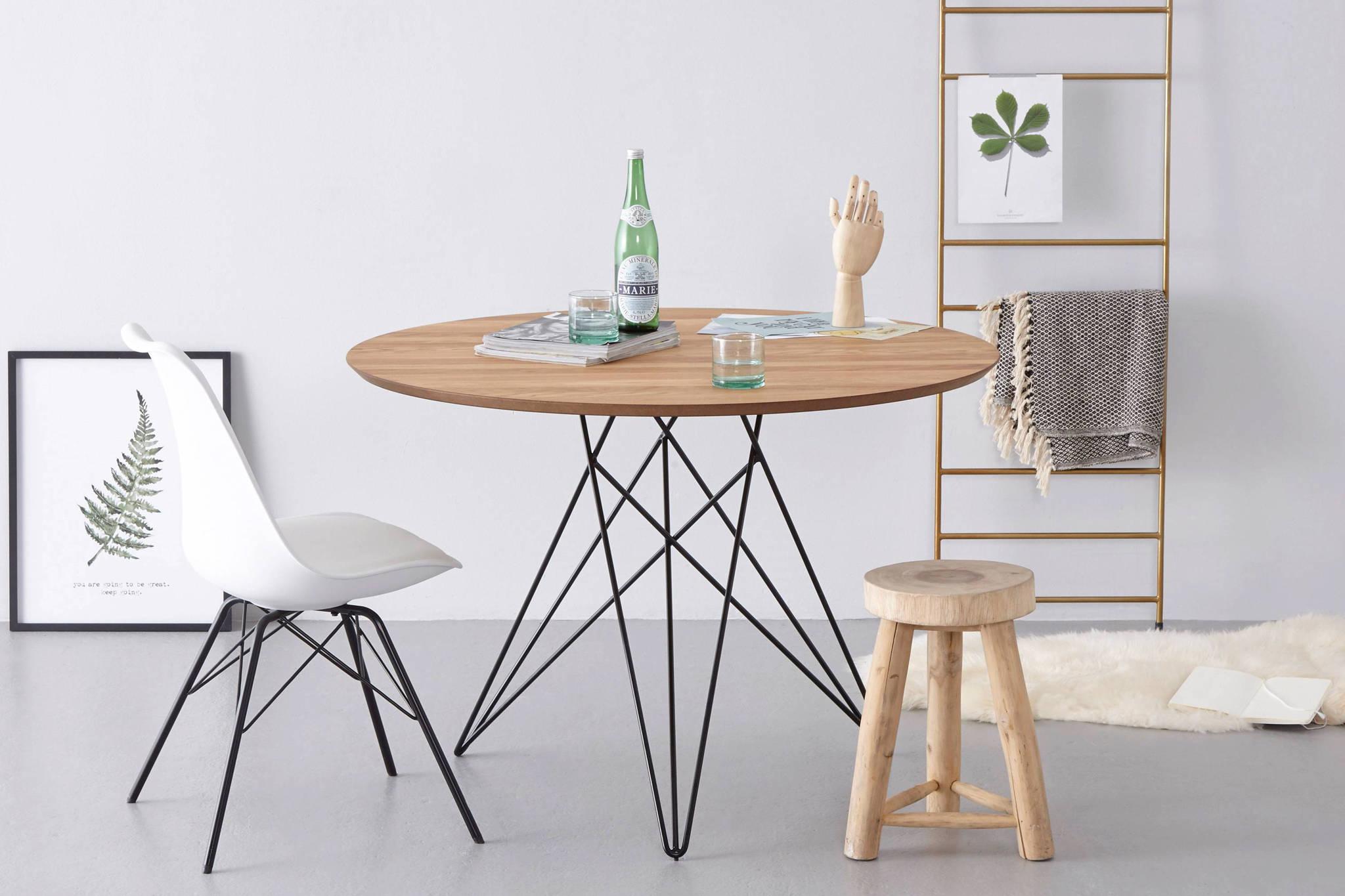 Ronde Eettafel Design.Ronde Eettafel Clara 110 Cm