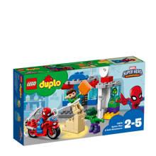 Duplo Super Heroes avonturen van Spider-Man en Hulk  10876