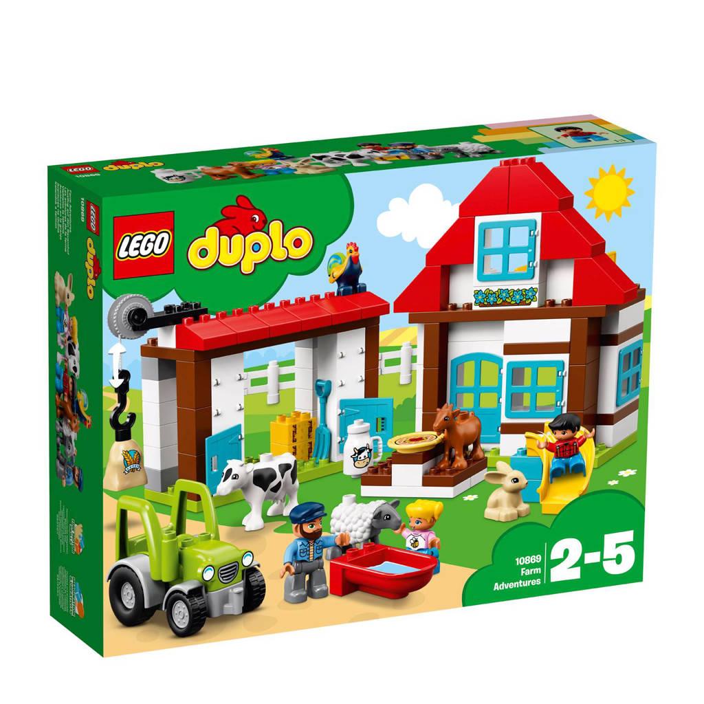 LEGO Duplo avonturen op de boerderij 10869