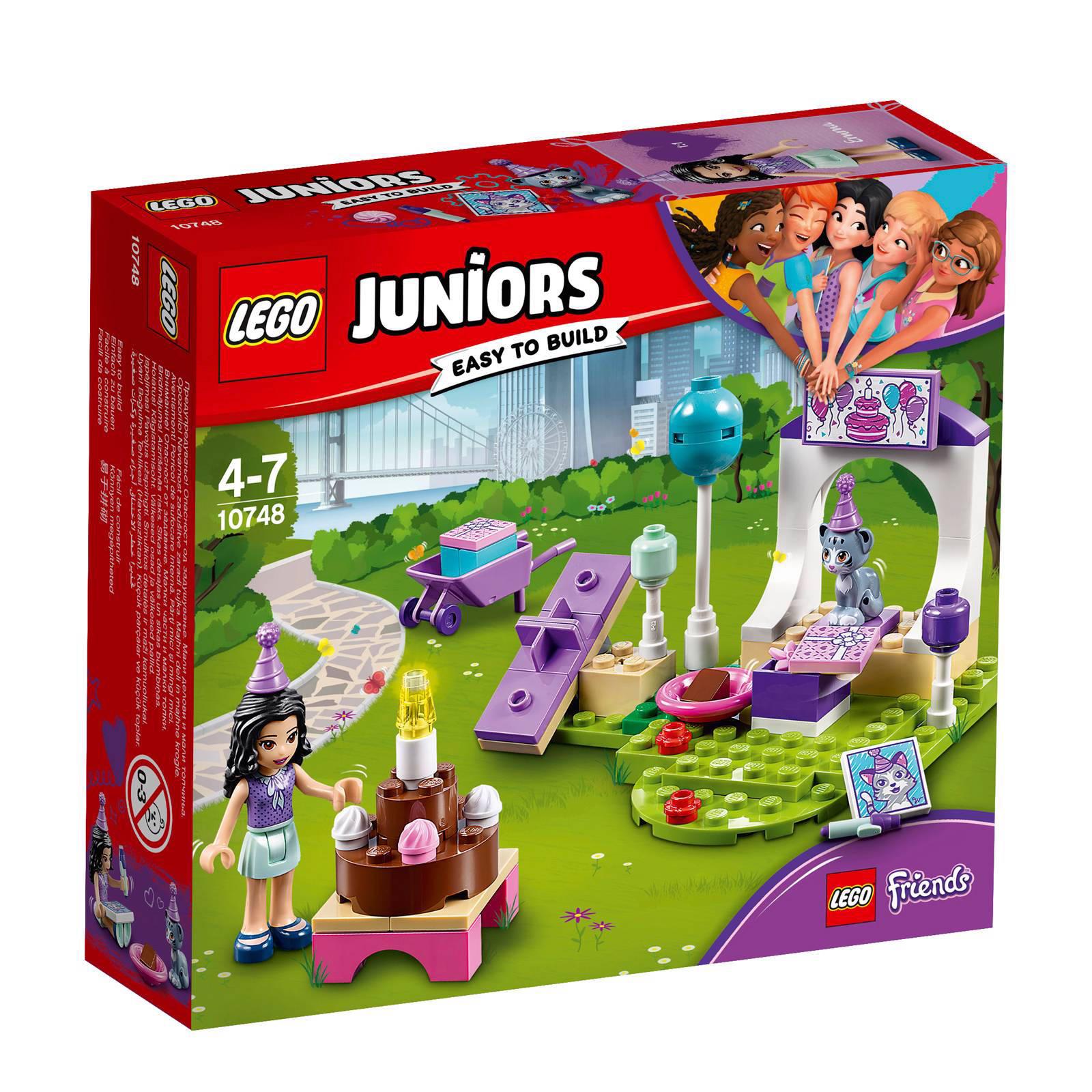 LEGO Juniors Friends Emma's huisdierenfeestje 10748
